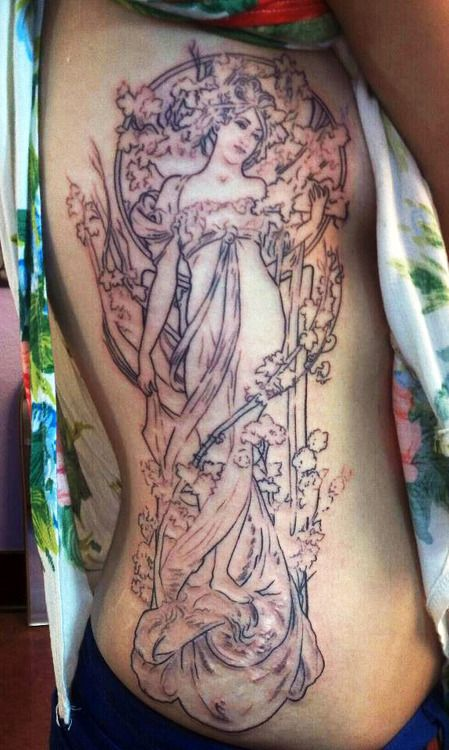 314 Best Mucha Art Nouveau Tattoos Images On Pinterest Ideas And Designs