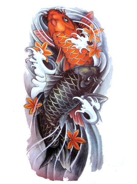 Best 25 Koi Fish Tattoo Ideas On Pinterest Japanese Ideas And Designs