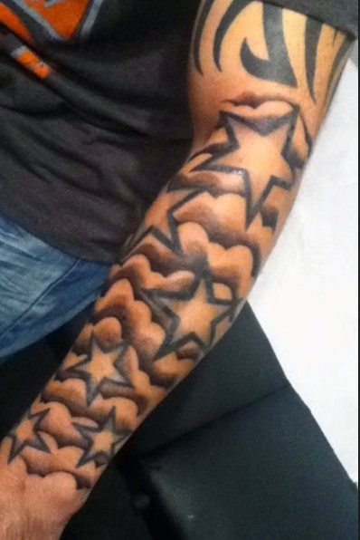 33 Best 6 Point Star Tattoos For Men Images On Pinterest Ideas And Designs