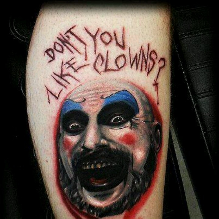 Captain Spaulding Tattoos Tattoo Related Tattoos Ideas And Designs