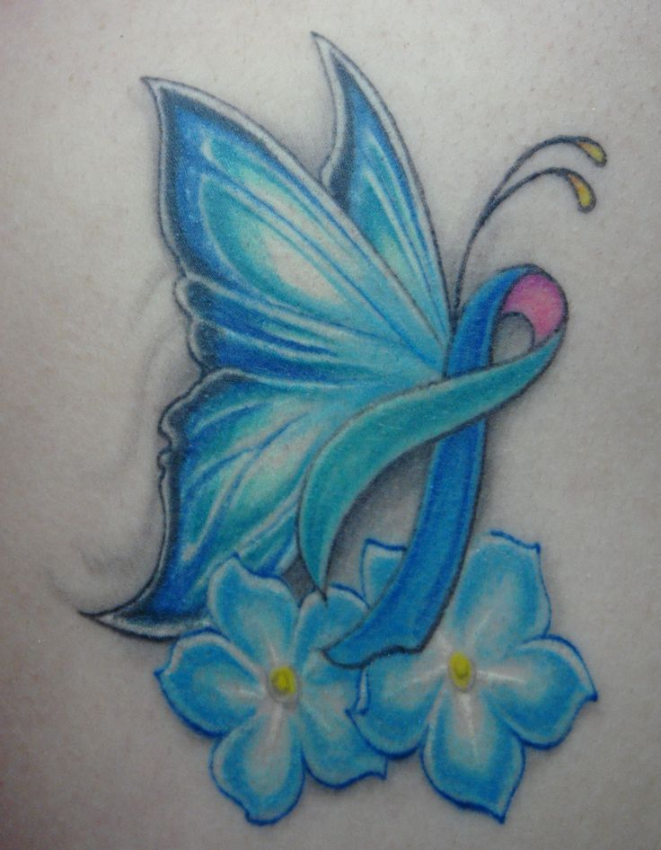 Pink Ribbon Butterfly Tattoo Cancer Ribbon Butterfly Ideas And Designs