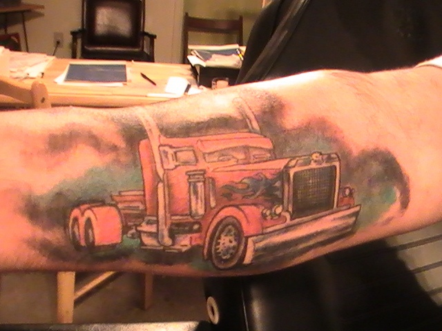 25 Best Trucker Tattoos Images On Pinterest Tatting Ideas And Designs