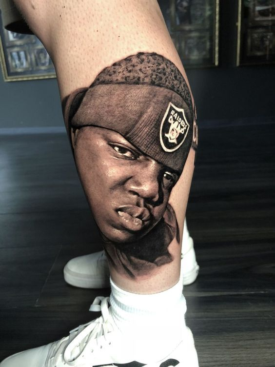 Biggie Smalls Tattoo By Boris Limited Availability Ideas And Designs