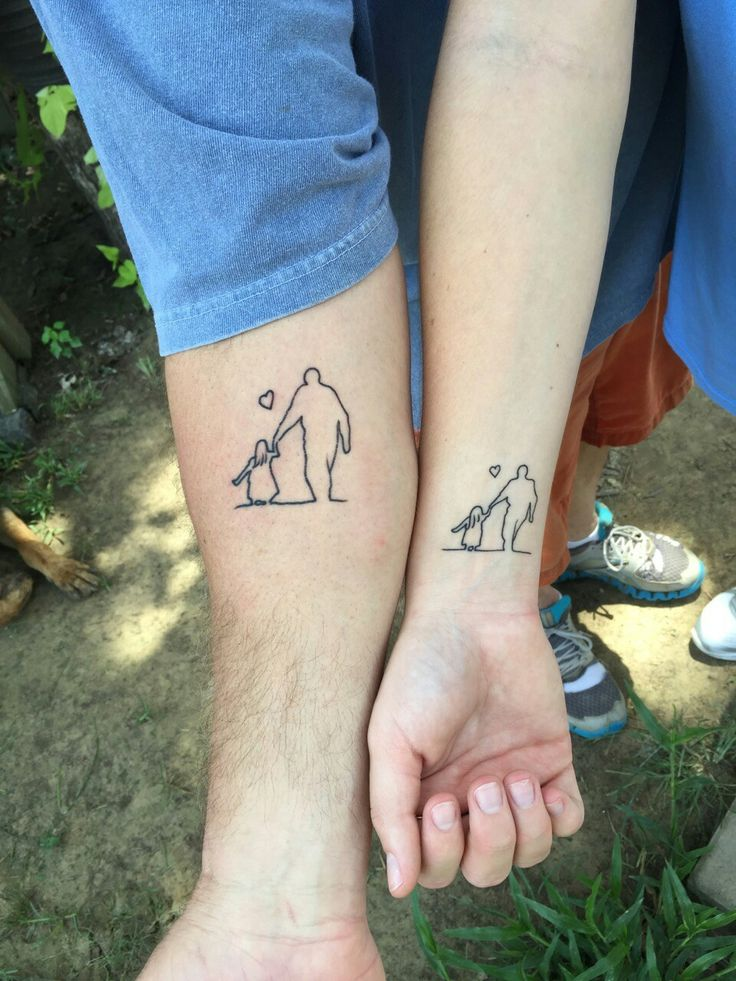 Best 25 Dad Daughter Tattoo Ideas On Pinterest Ideas And Designs