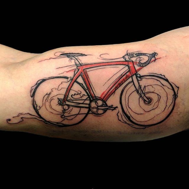 236 Best Cycling Tattoos Images On Pinterest Cycling Ideas And Designs