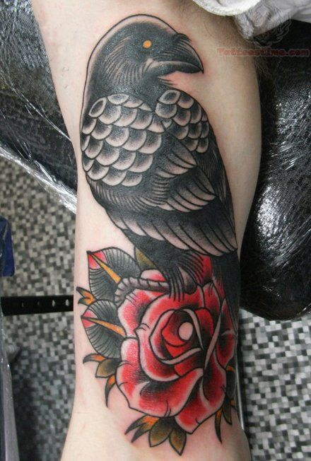 Best 25 Black Crow Tattoos Ideas On Pinterest Raven Ideas And Designs