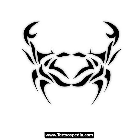 Best 25 Zodiac Cancer Tattoos Ideas On Pinterest Aries Ideas And Designs