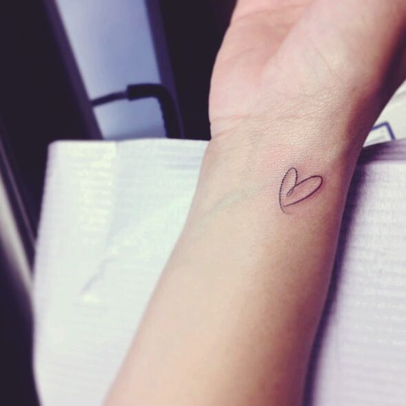 Best 25 Small Heart Tattoos Ideas On Pinterest Heart Ideas And Designs