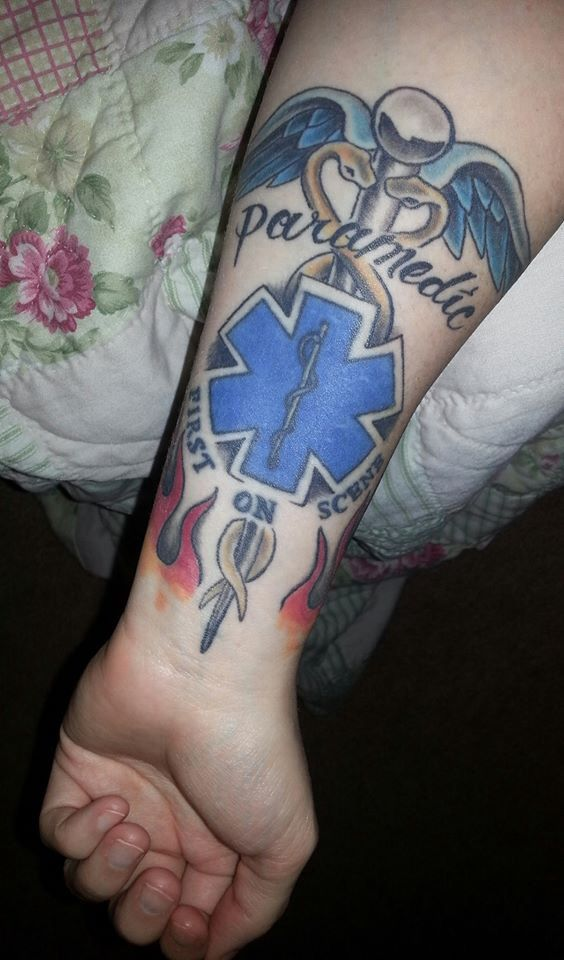 For All My Paramedic Friends Ink Ink Ink Paramedic Ideas And Designs