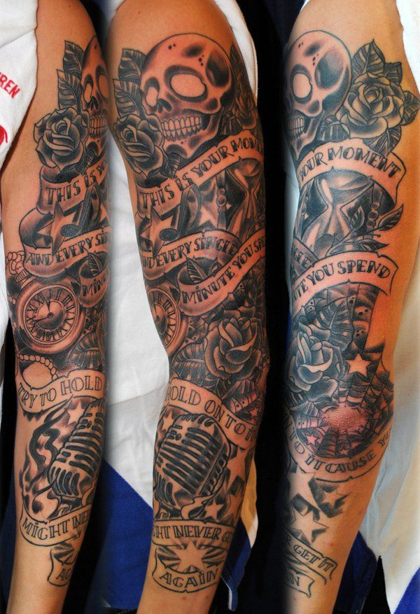 60 Cool Sleeve Tattoo Designs Sleeve Tattoos Full Ideas And Designs