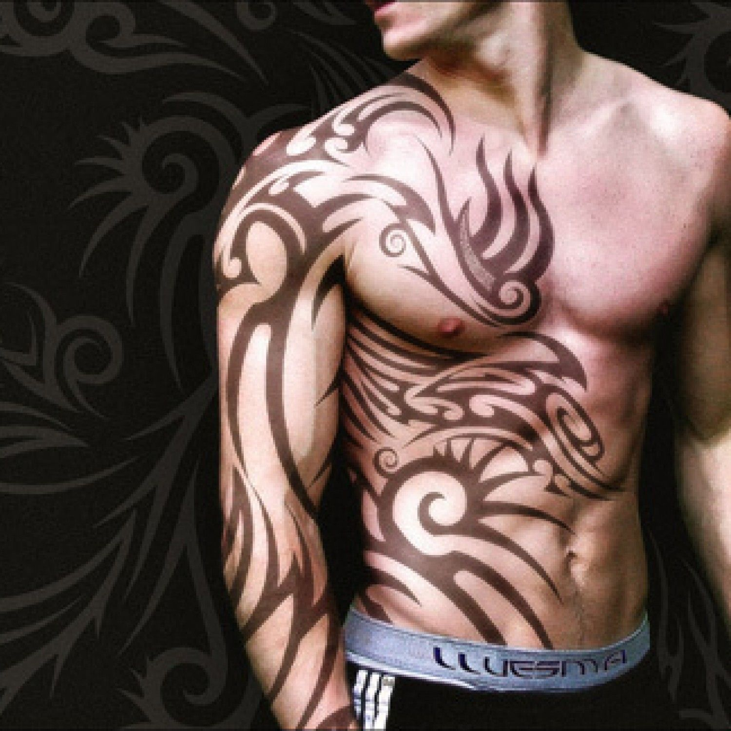 28 Insanely Cool Tribal Tattoos For Men Tatts Tribal Ideas And Designs