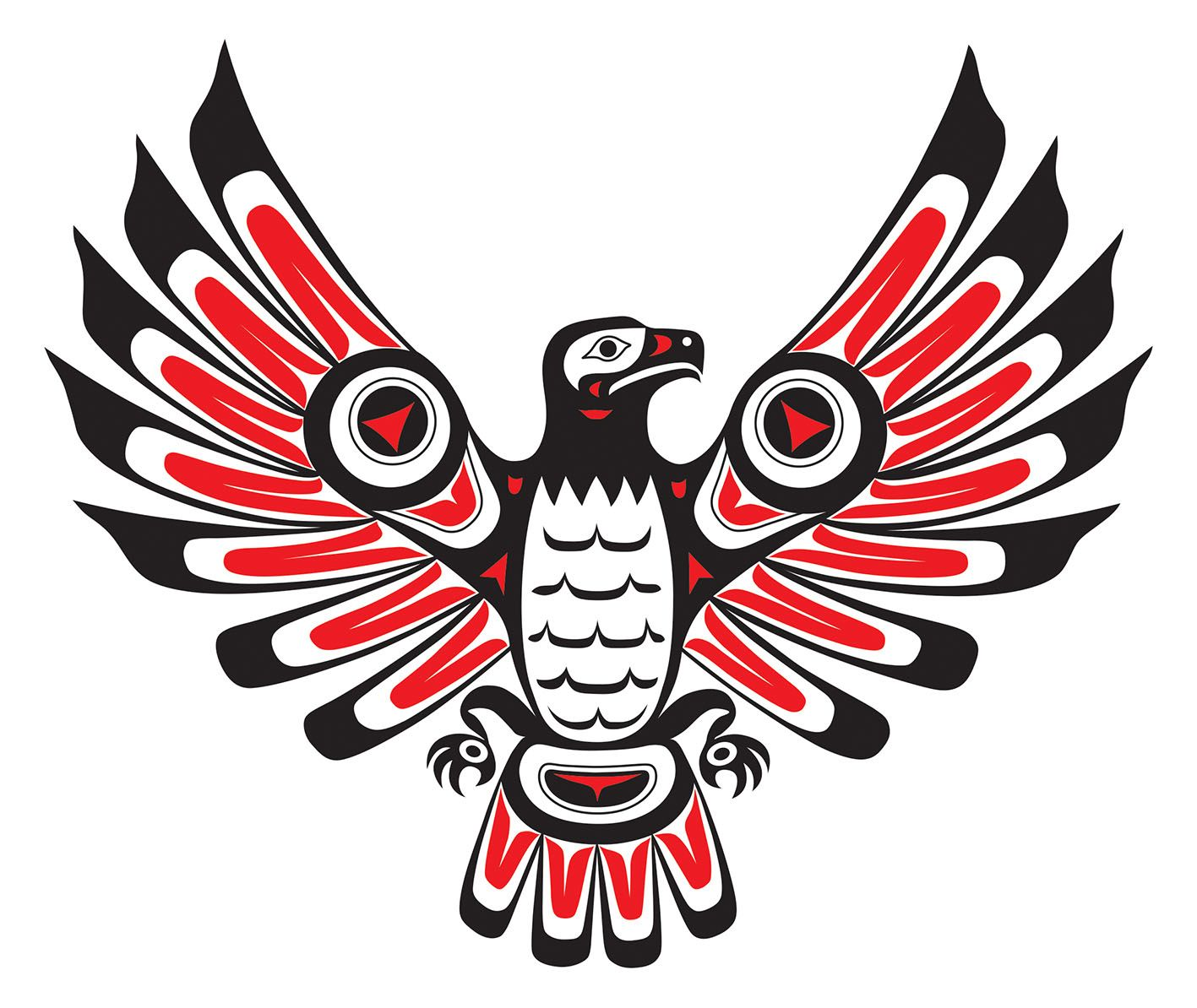 Indians Haïda Firebird Totem And Native Art In 2019 Ideas And Designs