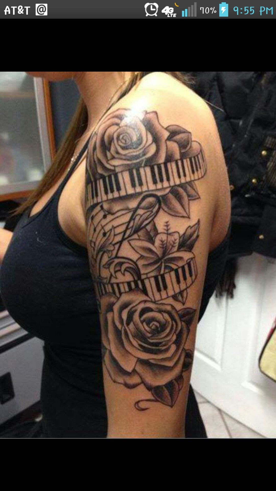Awesome 1 2 Sleeve Tatt Music Tattoos Music Tattoo Ideas And Designs