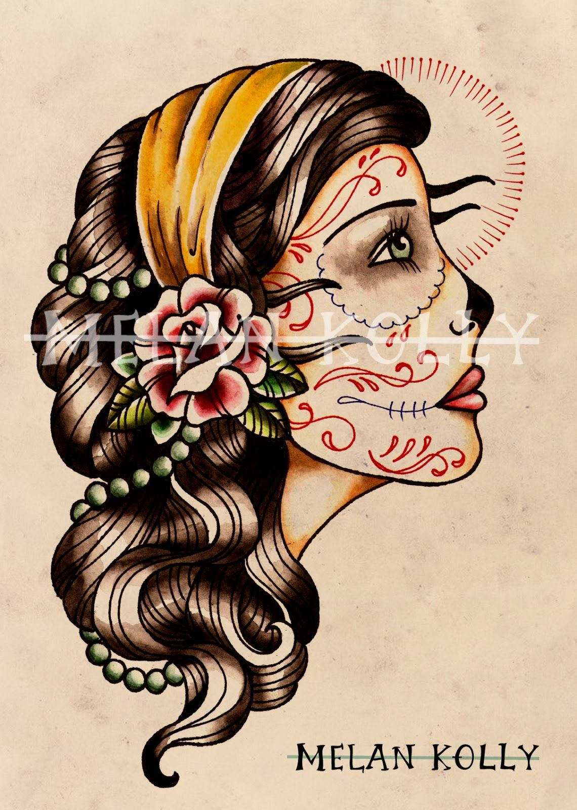 American Traditional Tattoo Template Google Search Ideas And Designs