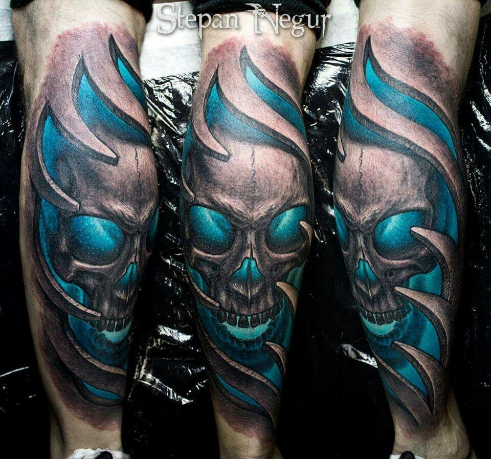 3D Skull By Stepan Negur Tattoo Skulls And Skeletons Ideas And Designs