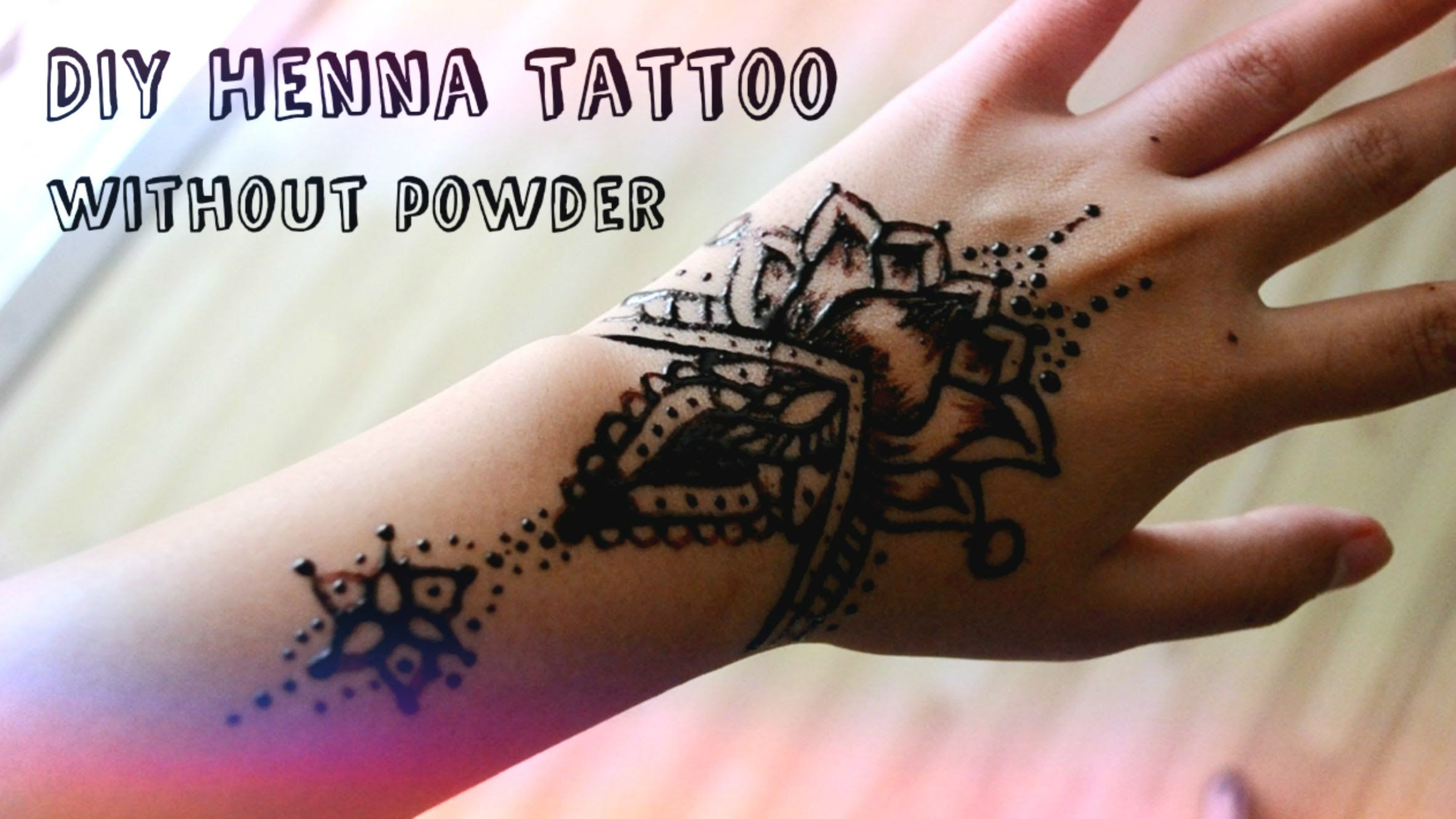 Diy Henna Tattoo Without Henna Powder Boredom Be Gone Ideas And Designs