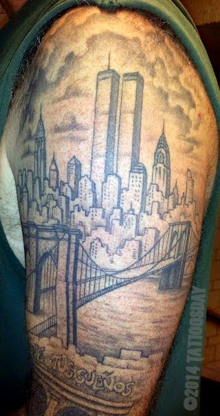 Pin By Bill Cohen On Tattoosday Tattoos City Tattoo Ideas And Designs