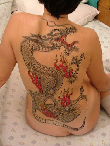 Dragon Tattoos Represent Courage Strength Raw Power And Ideas And Designs