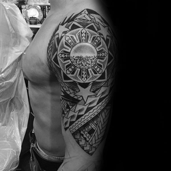 70 Filipino Tribal Tattoo Designs For Men Sacred Ink Ideas And Designs