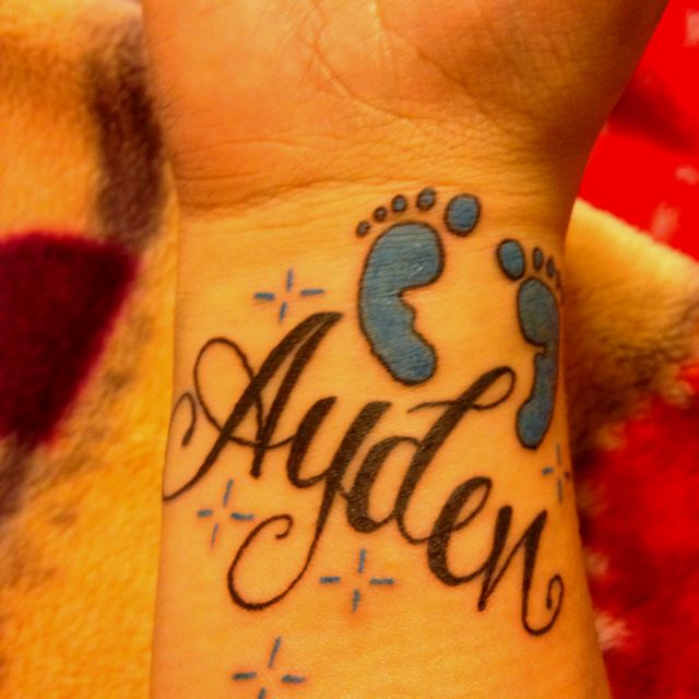 Little Brothers Name Accept He Spells It Aiden Love Ideas And Designs