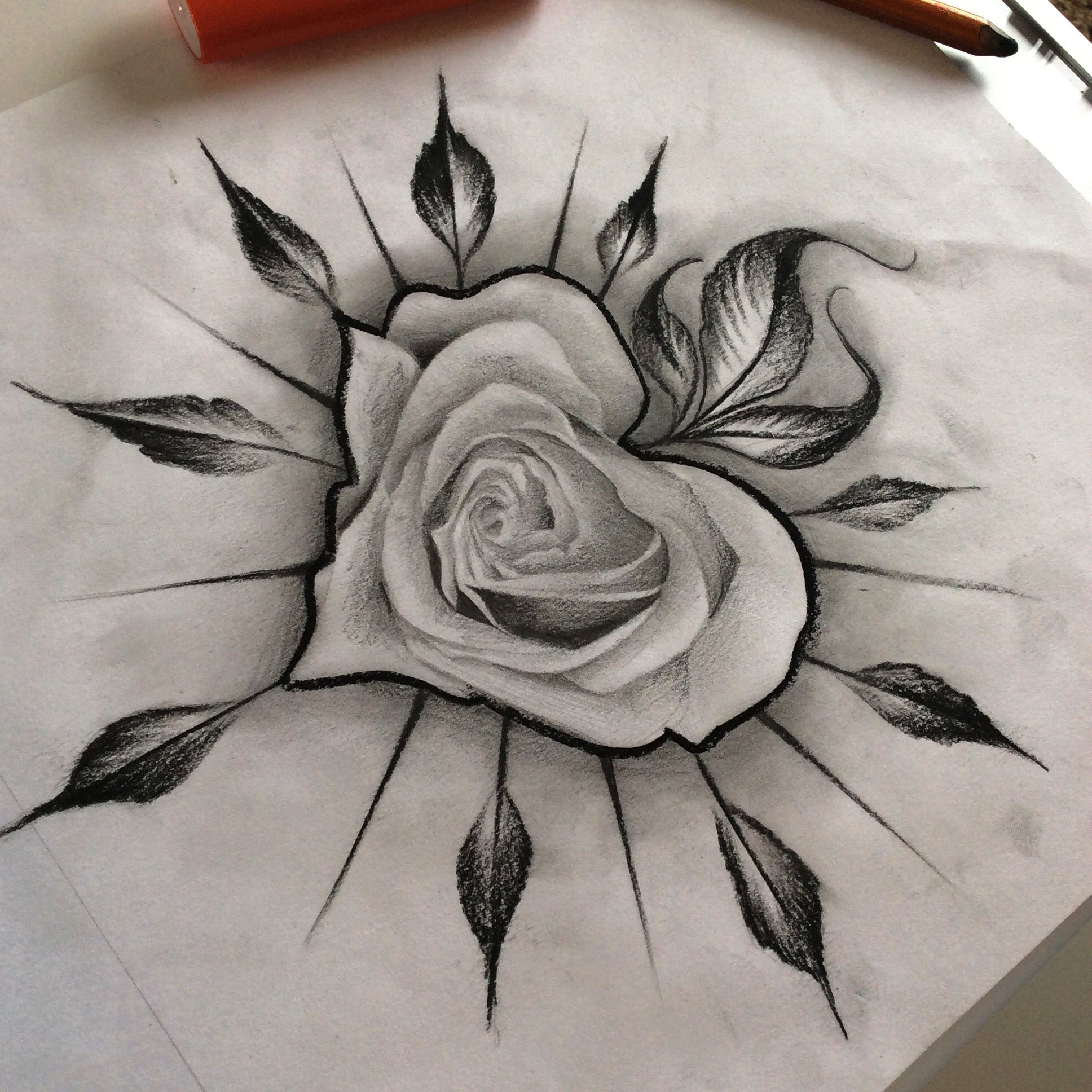 Roselle Tattoo Co My Drawings And Paintings Flower Ideas And Designs