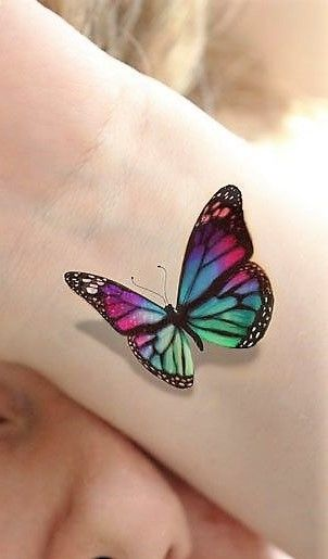 3 D Butterfly Tattoo Ideas Hmm Butterfly Tattoo Ideas And Designs