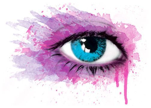 Tear Eye Watercolor Temporary Tattoo Eyes Ideas And Designs