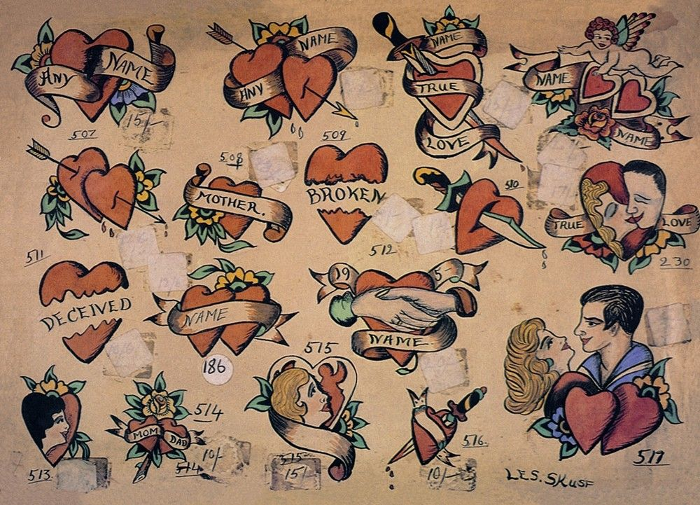 Les Skuse Bristol Great Britain 1950S Heart Star Ideas And Designs