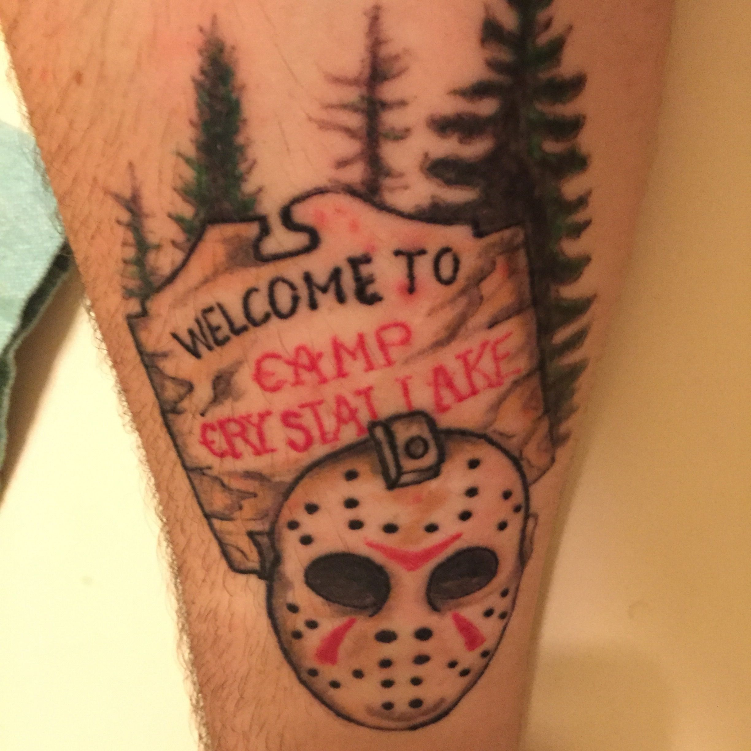 Tattoo Camp Crystal Lake Friday The 13Th Jason Vorhees Ideas And Designs