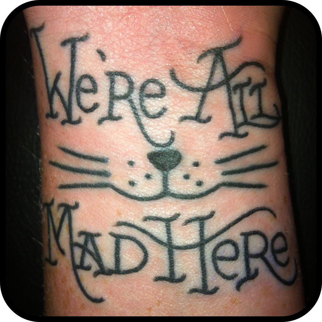 Alice In Wonderland Tattoo Cheshire Cat Smile Rather Ideas And Designs
