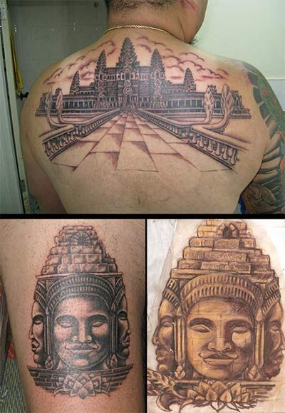 Asian Tattoo Art Sinville Sihanoukville Cambodia Tatoo Ideas And Designs