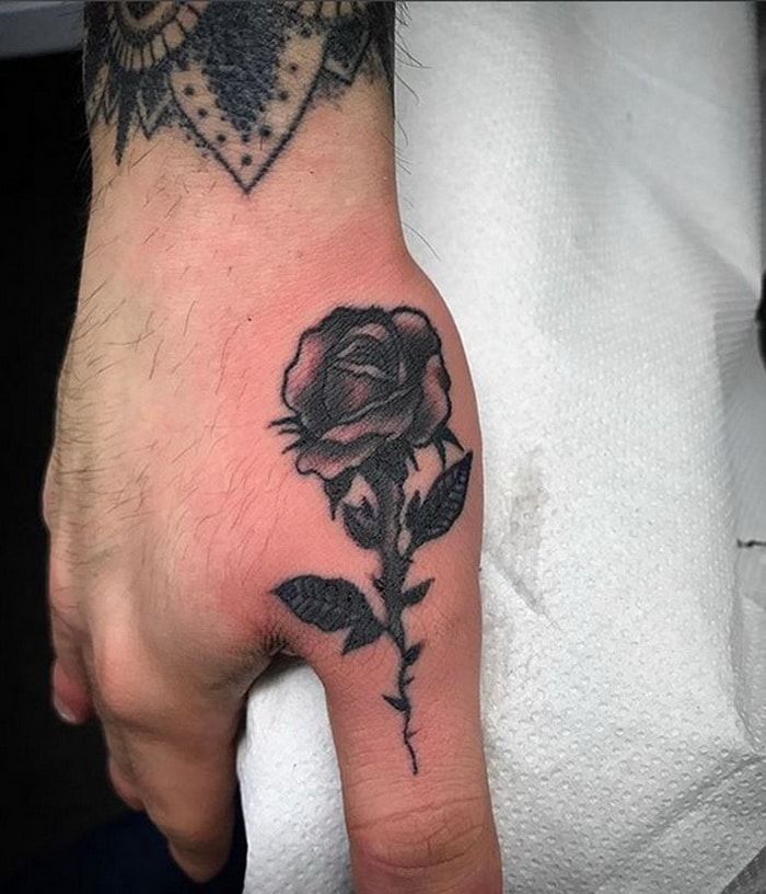 Black Rose Tattoos Designs 2018 2019 With Thorns Tattoo Ideas And Designs
