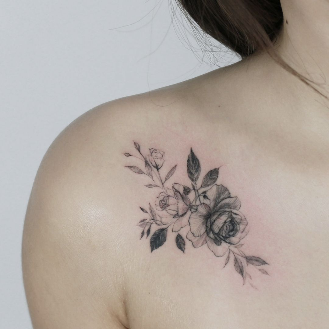 45 Front Shoulder Tattoo Designs For Beautiful Women 2019 Ideas And Designs