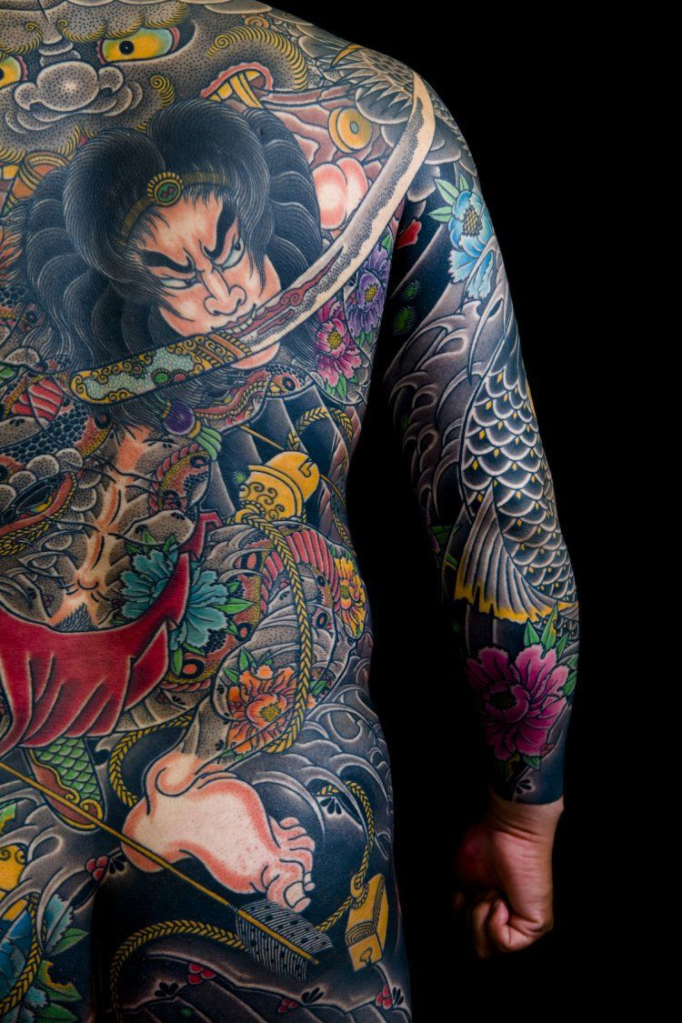 Japanese Full Body Yakuza Style This Is Sick Ideas And Designs