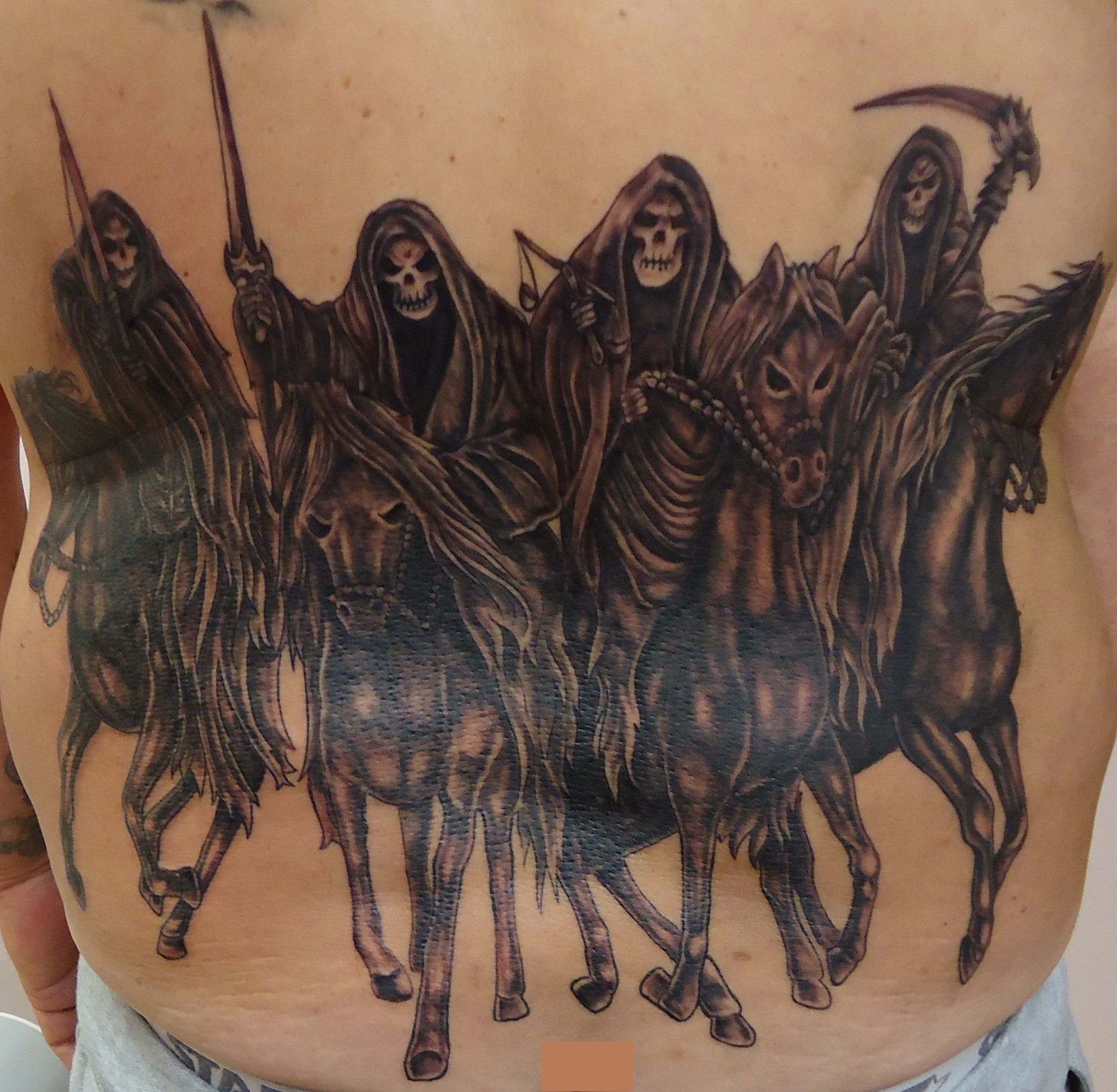 The Four Horsemen Of The Apocalypse Tattoo Google Search Ideas And Designs