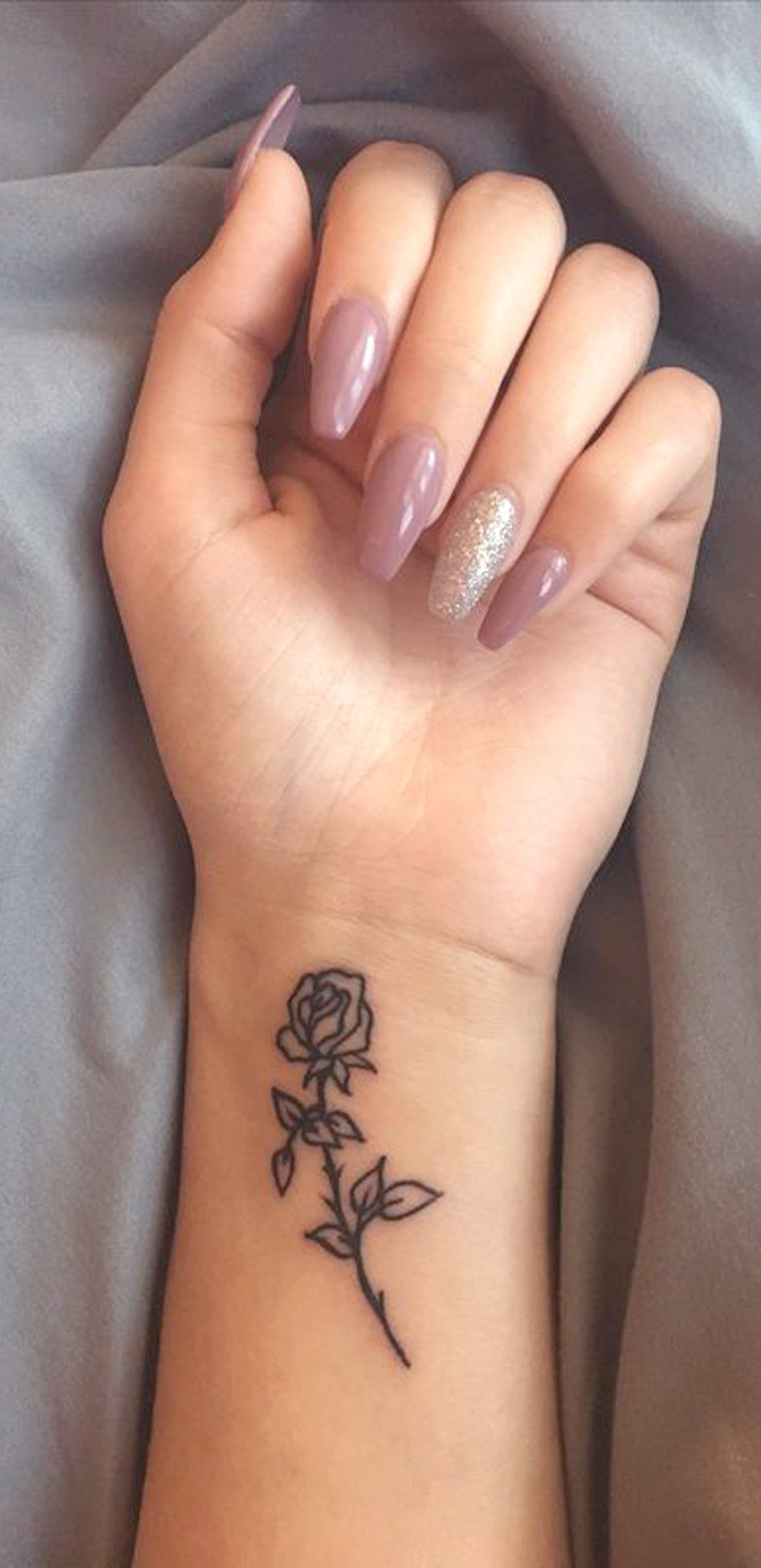 Small Rose Wrist Tattoo Ideas For Women Minimal Flower Ideas And Designs