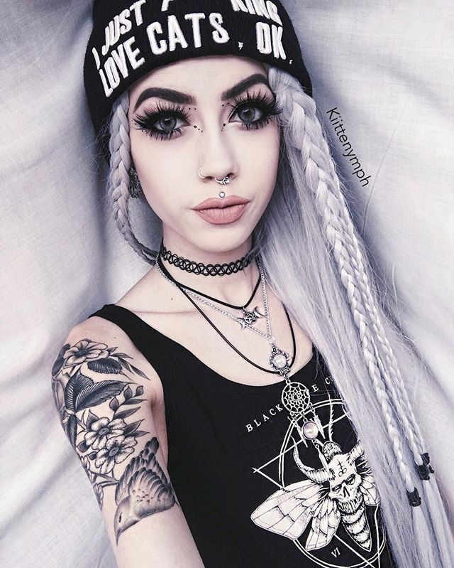 Instagram Analytics Go†H★Tabulous Goth Makeup Emo Ideas And Designs