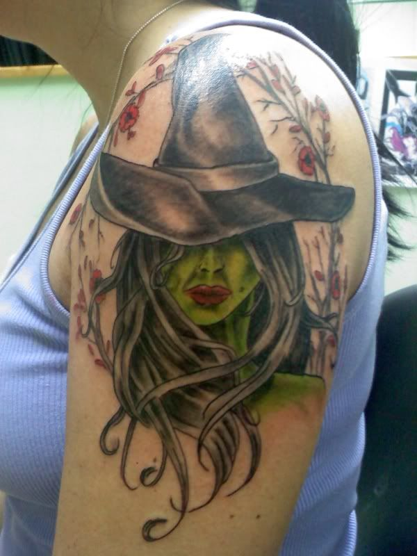 Elphaba Tattoo I Want But I Want More Detail And More Ideas And Designs