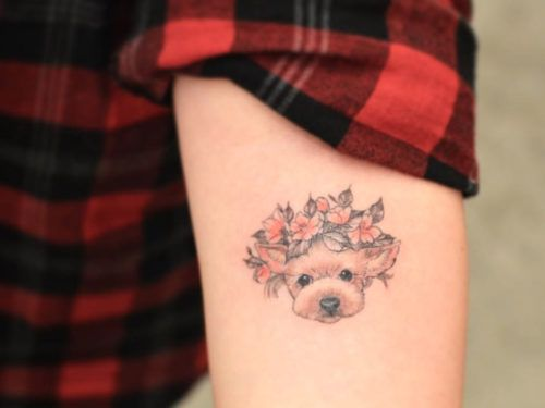 11 Sweet And Classy Dog Tattoos To Show Your Pup Your Ideas And Designs