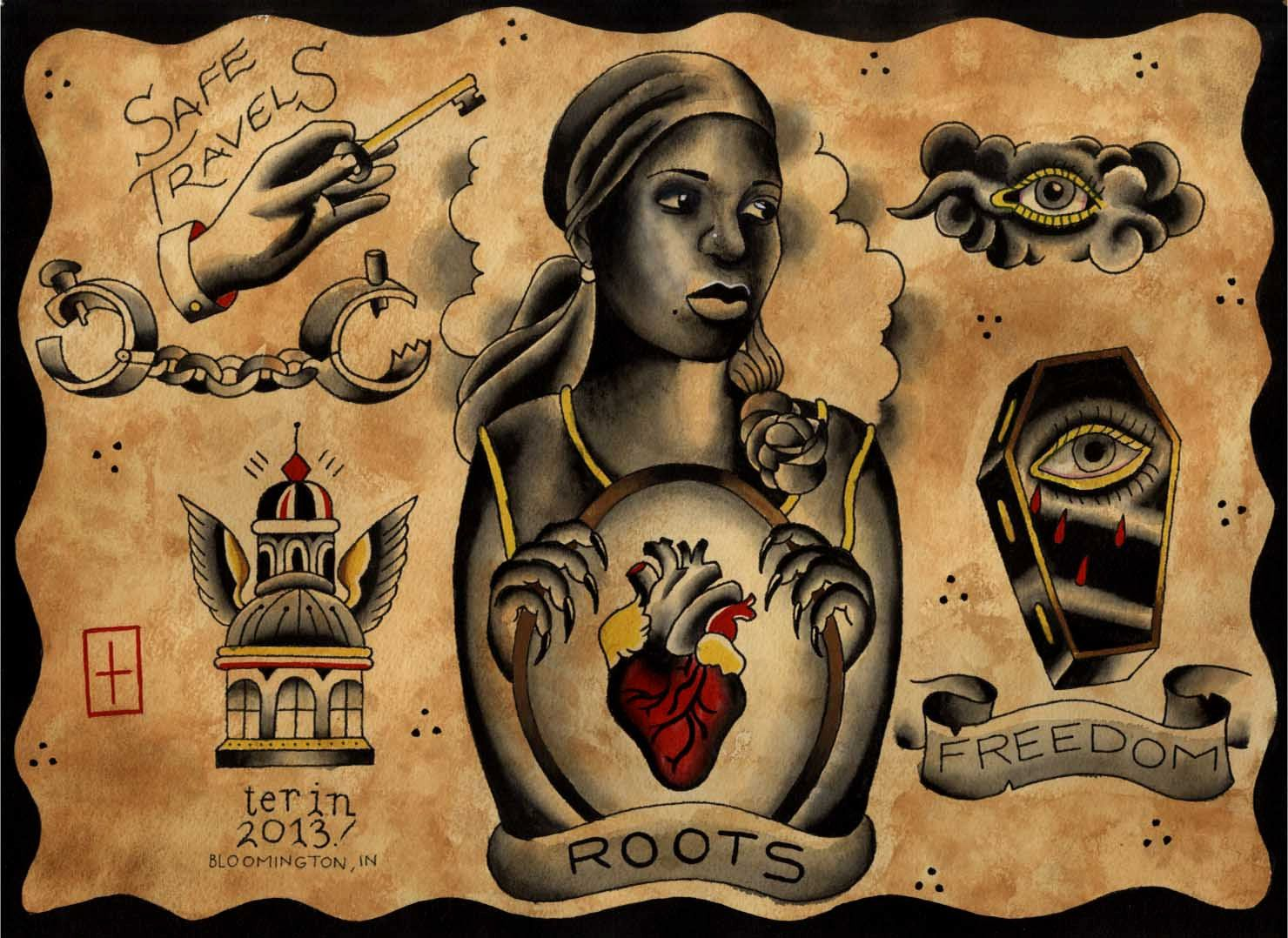 African American Tattoo Flash Stuff To Buy African Ideas And Designs