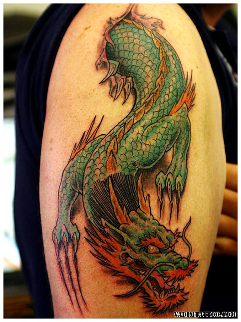 45 Chinese Dragon Tattoo Designs And Meanings Dragon Ideas And Designs