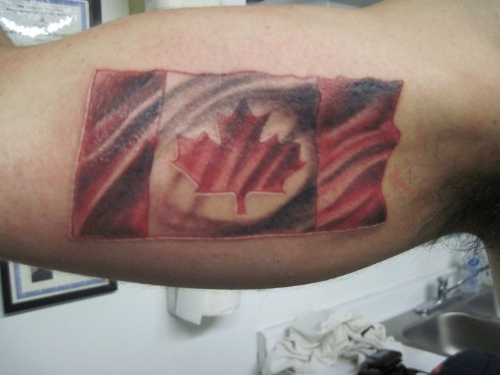 Canadian Flag Tattoo Google Search Ink Ideas And Designs
