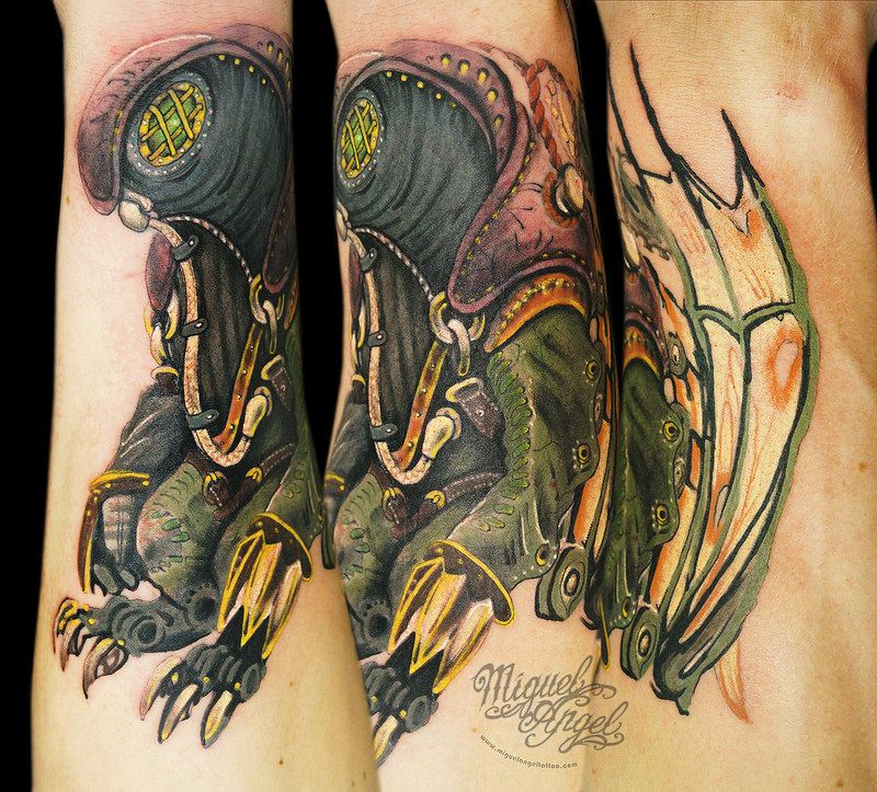 Songbird From Bioshock© Tattoo Tattoos That Are Neato Ideas And Designs