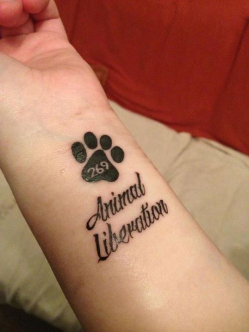 269Life Animalliberation Vegan 269 Tattoos Tattoos Ideas And Designs