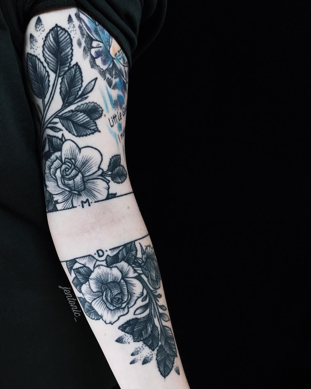 1 Year Old Rose Tattoo By Jen Tonic Tattoos Ideas And Designs