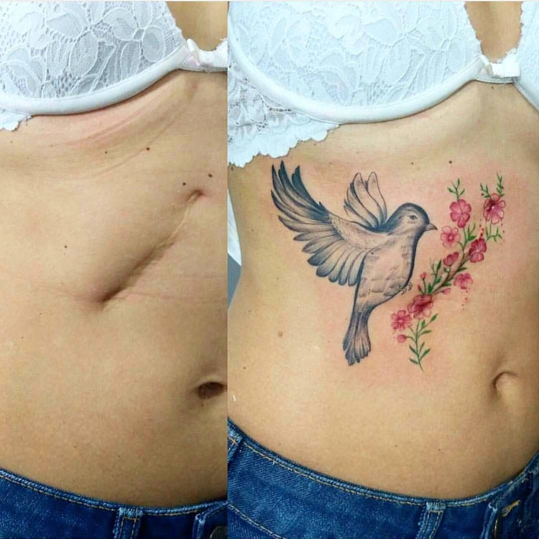 """Art On Instagram """"One Of The Best Scar Cover Up Tattoos Ideas And Designs"""