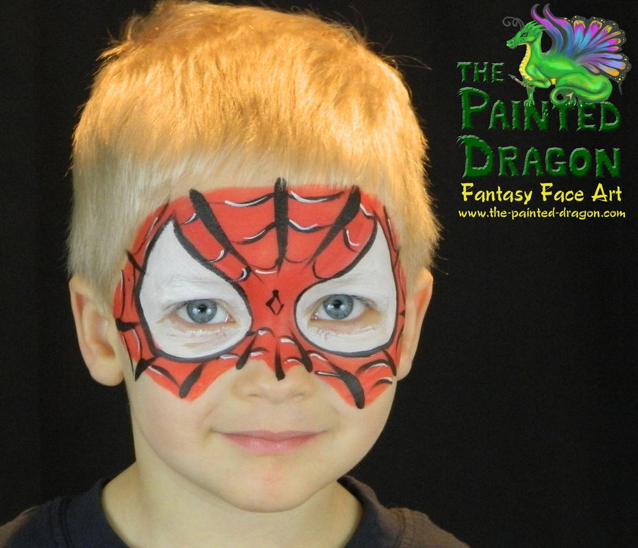 Photo Gallery The Painted Dragon Face Painting For Ideas And Designs