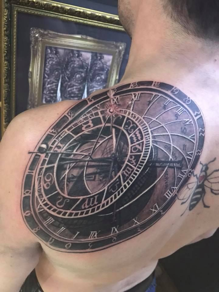 Astrolabe Tattoo By Stefan Limited Availability At Ideas And Designs