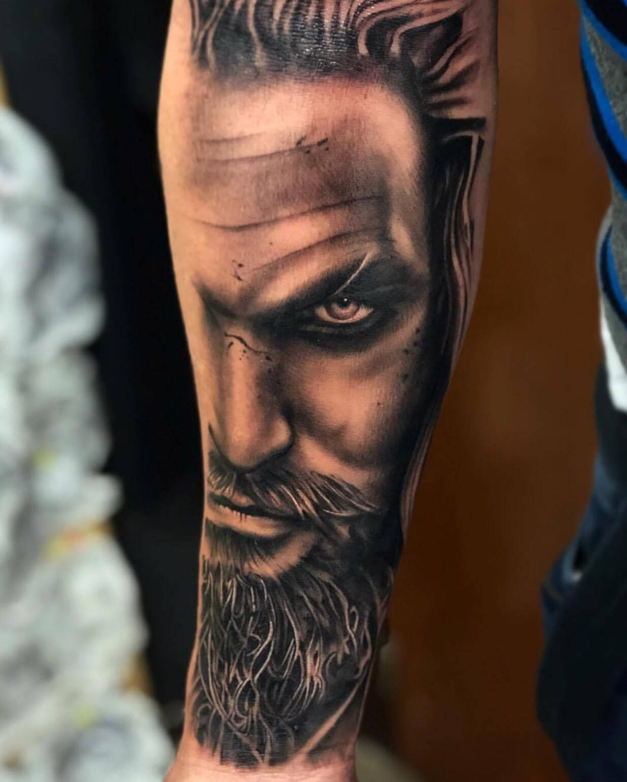 Aquaman Tattoo By Cristian Limited Availability At Ideas And Designs