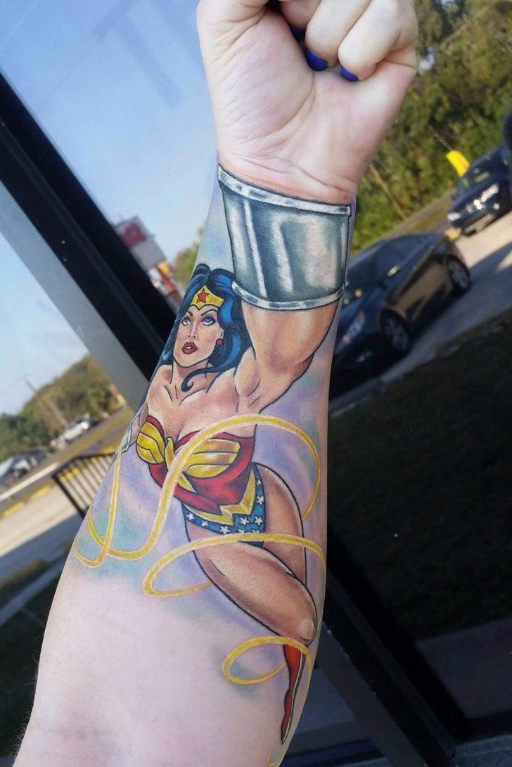20 Wonder Woman Tattoos That Will Make You Feel Like One Ideas And Designs